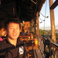 Bar.ボーペンニャンにて夕日を眺めながら