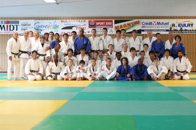 2012フランス・コントレックス柔道キャンプ