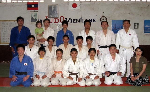 ラオスチームの2008年稽古納め