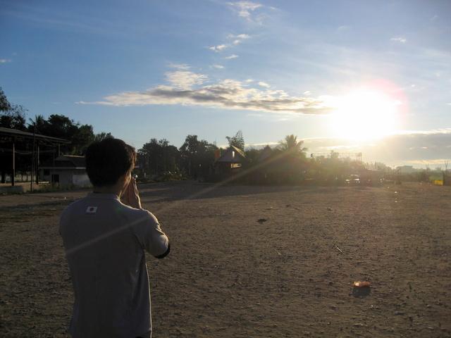 ラオスでの初日の出2009