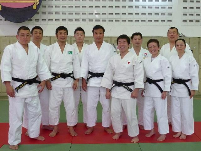 第1回アジア柔道形選手権大会inバンコク